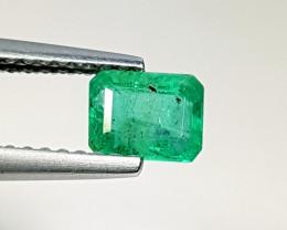0.64 ct Fantastic Gem Marvelous Octagon Cut Natural Emerald