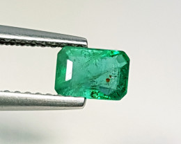 0.59 ct AAA Green Gem Awesome Octagon Cut Natural Emerald
