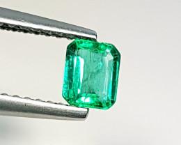 "0.46ct ""Top Quality Gem "" Stunning Octagon Cut Natural Emerald"