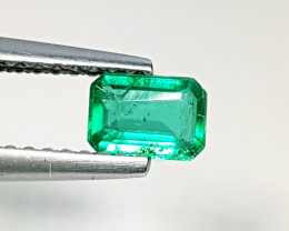 "0.45 ct ""AAA Grade Gem"" Awesome Octagon Cut Natural Emerald"
