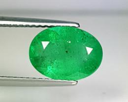 """2.53 ct """"Top Quality Gem """" Fantastic Octagon Cut Natural Emerald"""