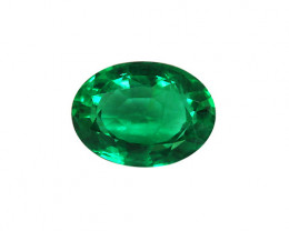 2.94 ct  Majestic Clean, Bright And Rich Natural Emerald