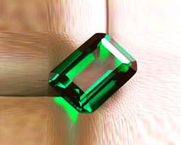 1.64 ct Top Natural Zambian Emerald Certified!
