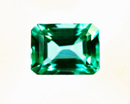 1.73 ct  Exceptionally Clean Bright And Brilliant Top Of The Line Emerald