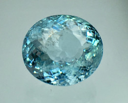 4.98 Cts Aquamarine Awesome Color and  Luster ~ Skardu AN5