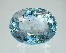4.38 Cts Aquamarine Awesome Color and Luster ~ Skardu AN6