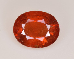 Natural Spessartite Garnet 3.11 Cts, Top Luster