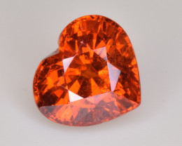 Natural Spessartite Garnet 3.94 Cts, Top Luster