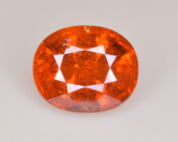 Natural Spessartite Garnet 4.65 Cts, Top Luster