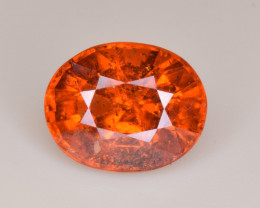 Natural Spessartite Garnet 4.92 Cts, Top Luster