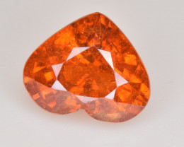 Natural Spessartite Garnet 5.54 Cts, Top Luster