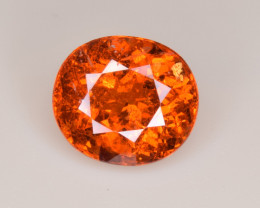 Natural Spessartite Garnet 5.87 Cts, Top Luster