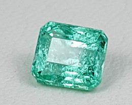 0.75Crt Emelrad Stone From Afghanistan Best Grade Gemstones JI123