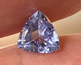 ⭐Sparkling Tanzanite Trilliant Cut Gem - beautiful stone No reserve
