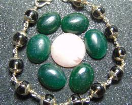 Bracelet designs ~ brown quartz bracelet ~ nice 98.5 silvers 58.95cts