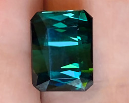 4.90ct Certified Large Indicolite Green Tourmaline - Exalted - Collector's