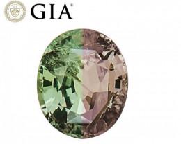 NR! GIA Certified 2.39 CT Green to Purple  Alexandrite (Sri Lanka) $71,400