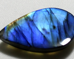 29 Carat Natural Blue Labradorite cabochon 0005