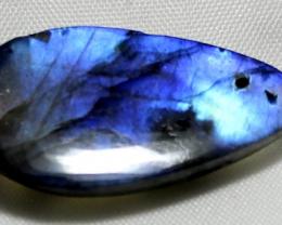 27.70  Carat Natural Blue Labradorite cabochon 0008