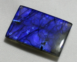 31 Carat Natural Blue Labradorite cabochon 0010