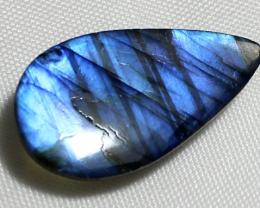 12.55 Carat Natural Blue Labradorite cabochon 0012