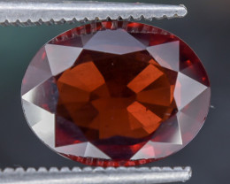 3.70 Crt Spessartite Garnet Red Color Faceted Gemstone (R54)