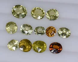 12.80 Crt Mali Garnet Parcels Faceted Gemstone (R54)