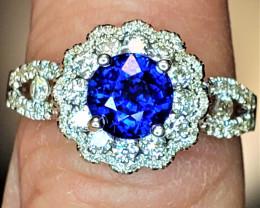 1.40ct Blue Sapphire Ring
