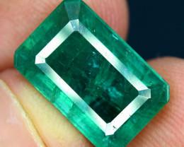 4.50 Carats  Top Grade And Color Zambian Emerald Gemstone