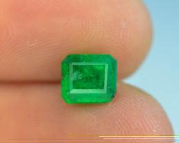 1.15 ct Natural Vivid Green Color Emerald~Swat