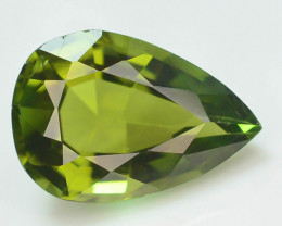 Amazing Color 2.55 ct Natural Green Color Tourmaline
