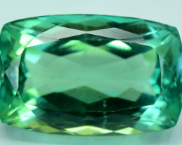 No Reserve  - 22.95 Carats  Lush Green Spodumene from Afghanistan