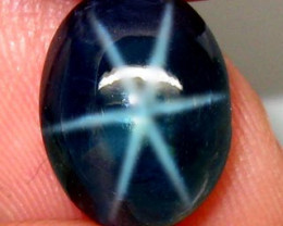 6.32 Carat Thailand Blue Star Natural Sapphire