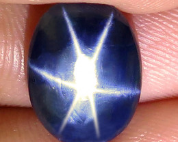4.54 Carat Diffusion Blue Star Sapphire - Gorgeous