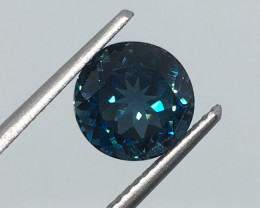 2.60 Carat VS Topaz London Blue - Brazilian Beauty - Quality !