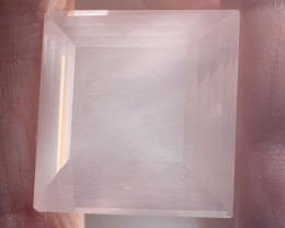71.02ct Rapturous Pale Pink Effulgent Rose Quartz