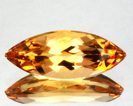 1.08 Cts Natural Imperial Topaz Marquise Brazil