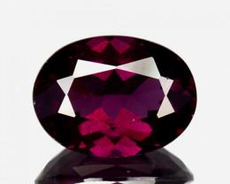 Cute Untreated 2.48Ct Natural Purple Garnet Oval