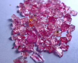 50.70 CT Natural - Unheated Pink Spinel Rough Lot