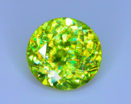 Rare AAA Fire 2.30 ct Sphene Mint Green Tanzania Sku-23