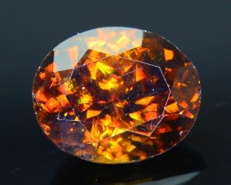Rare AAA Fire 3.17 ct Sphene Sku-23