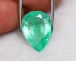 2.56Ct Natural Neon Green Colombian Muzo Emerald ~ B09/11