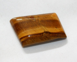 37 carat Natural GOLDEN TIGER EYE Cabochon 0002