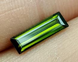 0.90Crt Olive Tourmaline  Best Grade Gemstones JI124