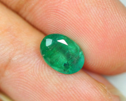 Limited Offer 1.92ct Zambia Green Emerald Oval Cut Lot A311
