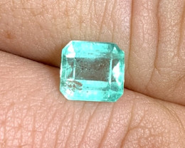 1.85 cts Colombian Emerald - Glowing Mint Green