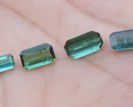 5.40 carats Blue color Tourmaline Gemstone parcel