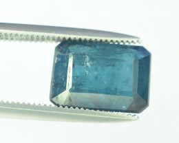 3.65 Carats Indicolite Color Tourmaline Gemstones