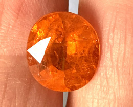 7.63ct Huge Wild Mandarin Spessartite Garnet (included)