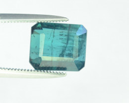 3.90 Carats Indicolite Color Tourmaline Gemstones